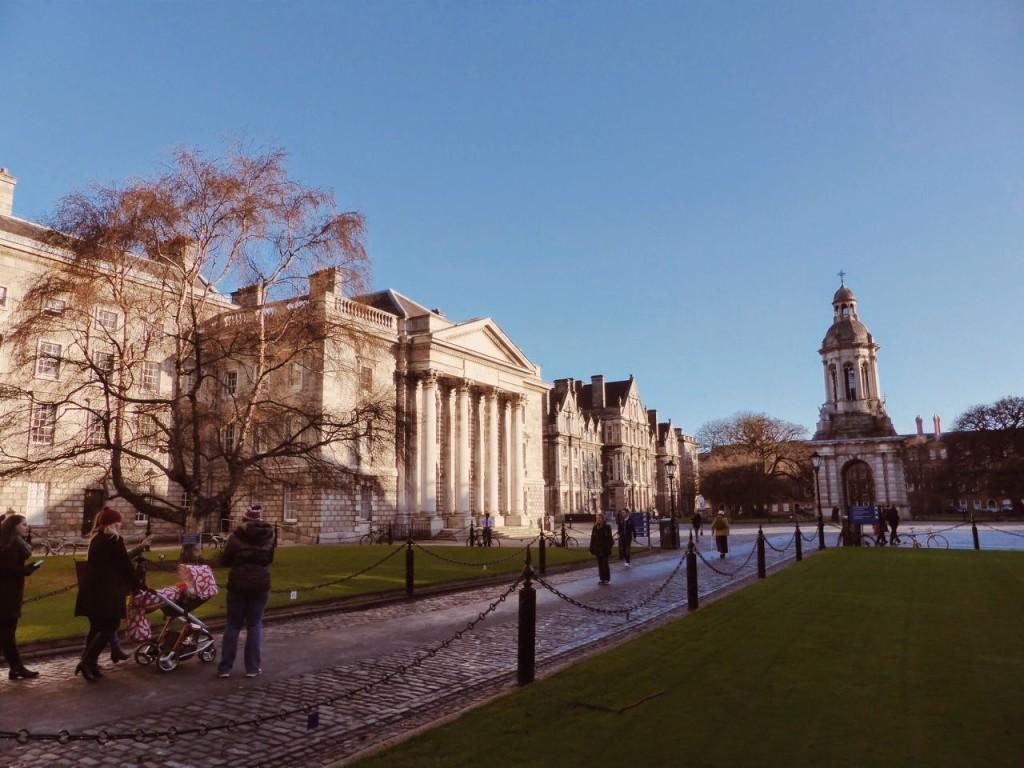 Parliament Square at Trinity College, Dublin