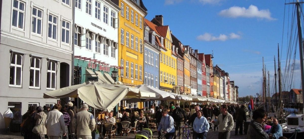 The famous colours of Nyhavn