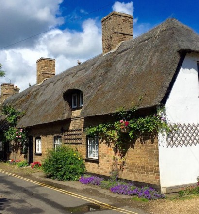 A cottage in Houghton, Cambridgeshire
