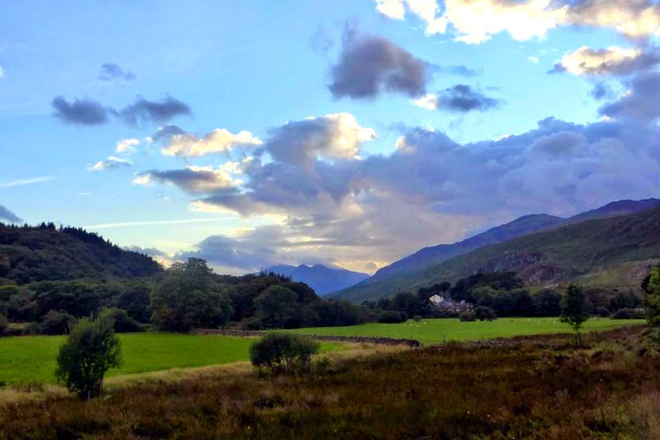 Scenery in Snowdonia, Wales
