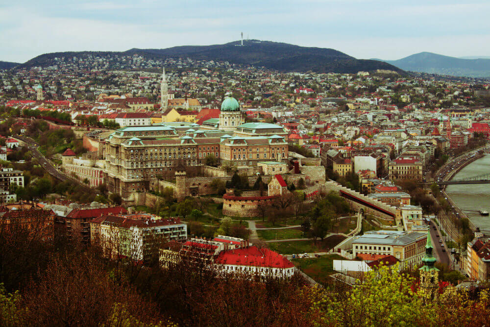 The Budapest Skyline - Photo by Anastasia Zhenina