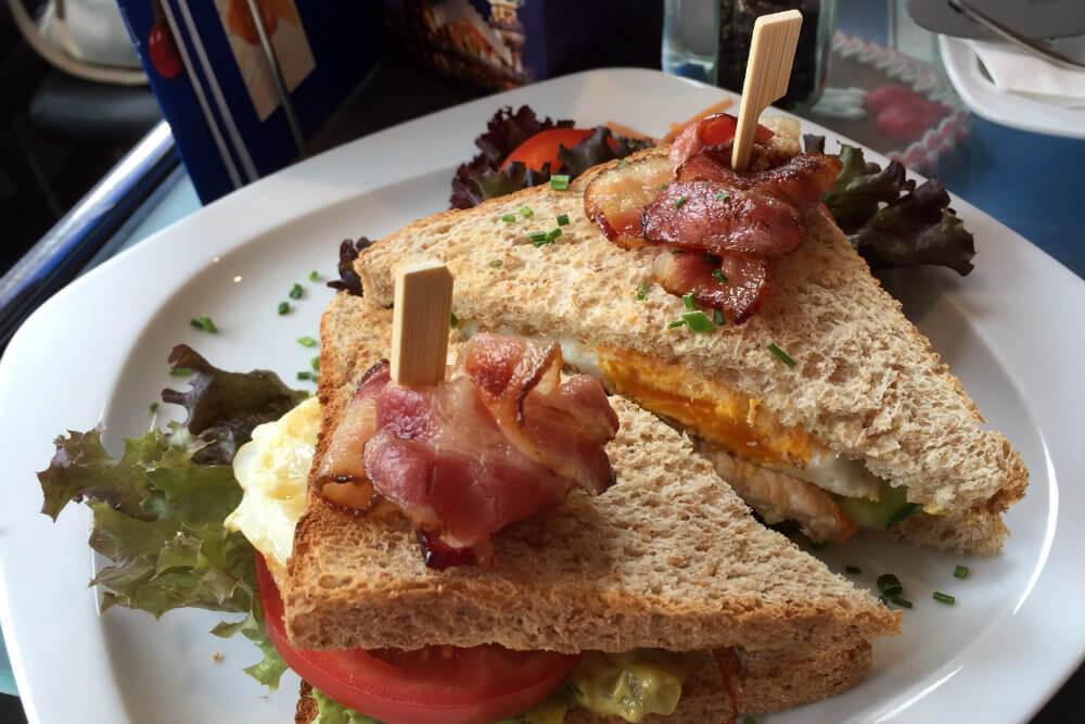 Rischart's Club Toast at Cafe Rischart, Munich