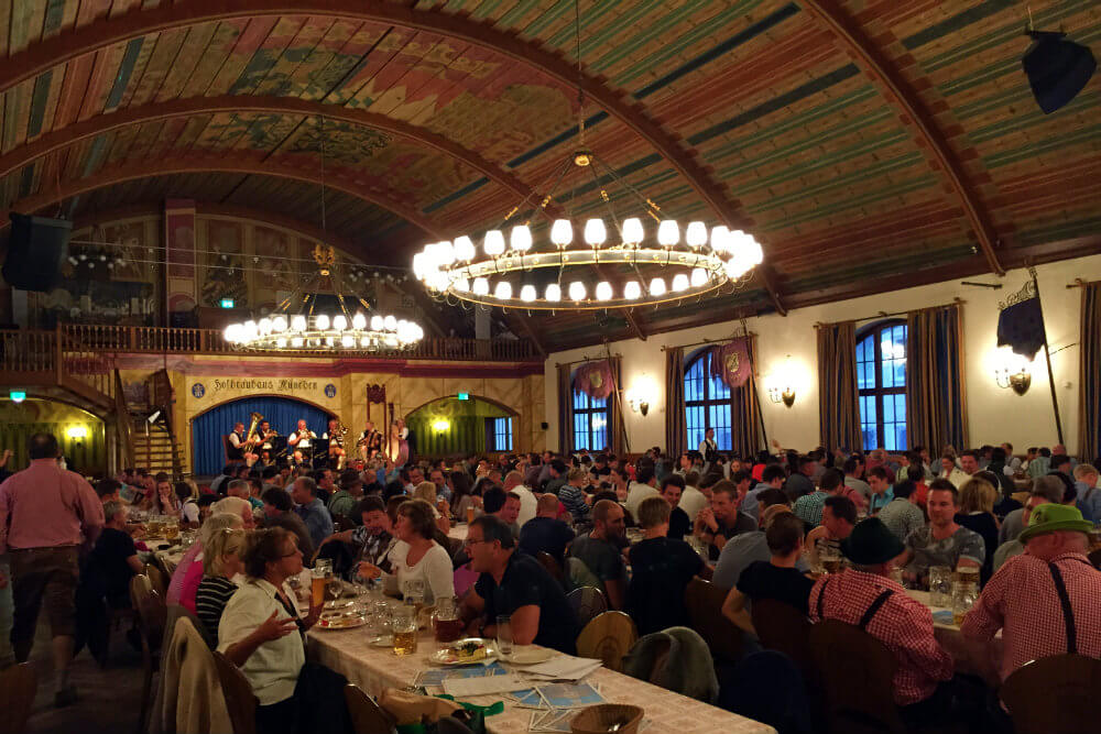 Festival Hall at Hofbrauhaus, Munich