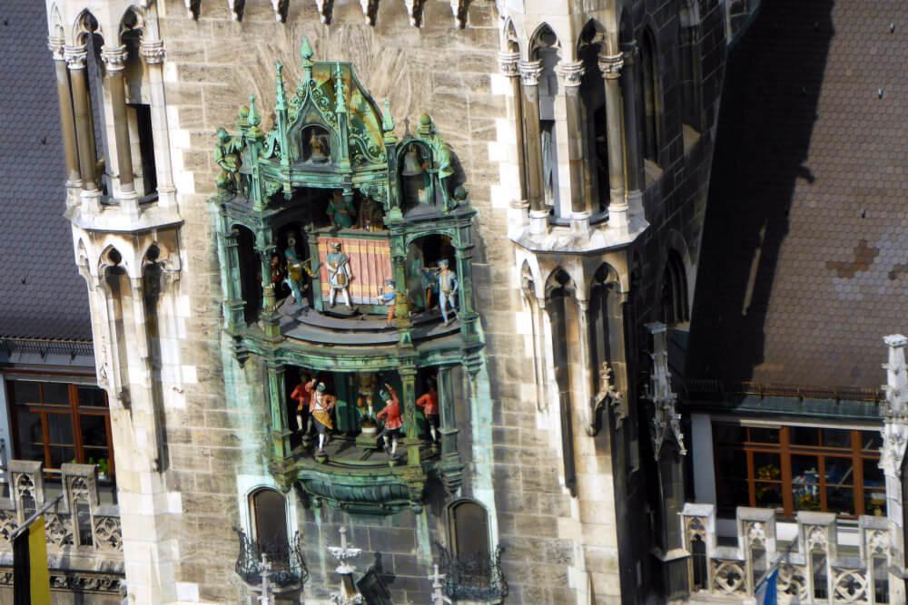 Glockenspiel, New Town Hall, Munich