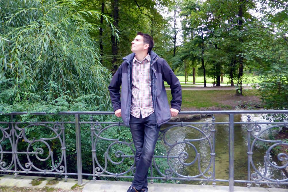 Matt in Englischer Garten, Munich