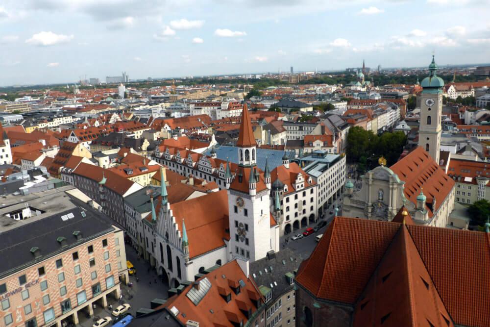 Old Town Hall & Heiliggeistkirche, Munich