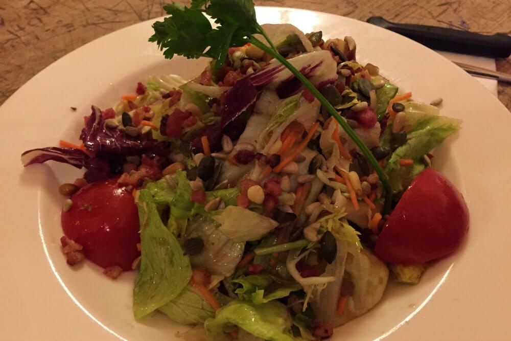 Mixed Salad at Hofbrauhaus, Munich