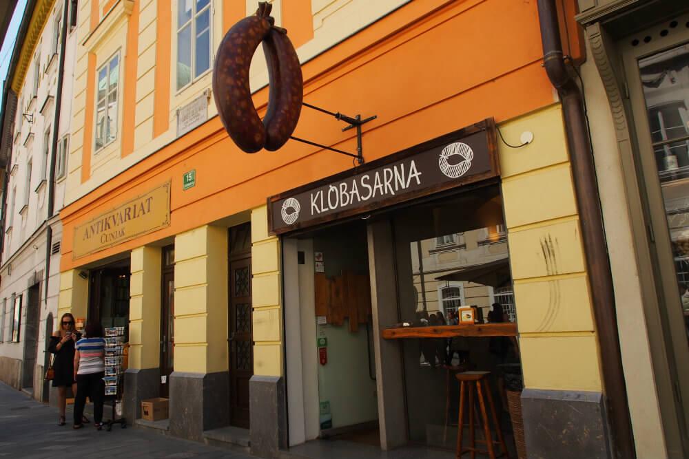 Klobasarna in Ljubljana