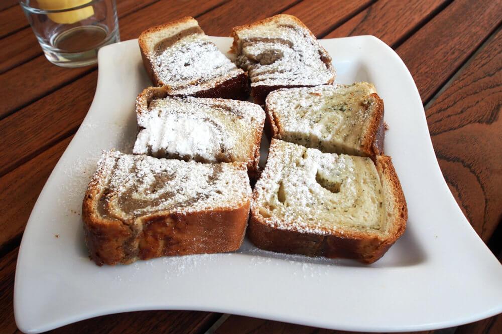 Potica, a Slovenian cake flavoured with Tarragon