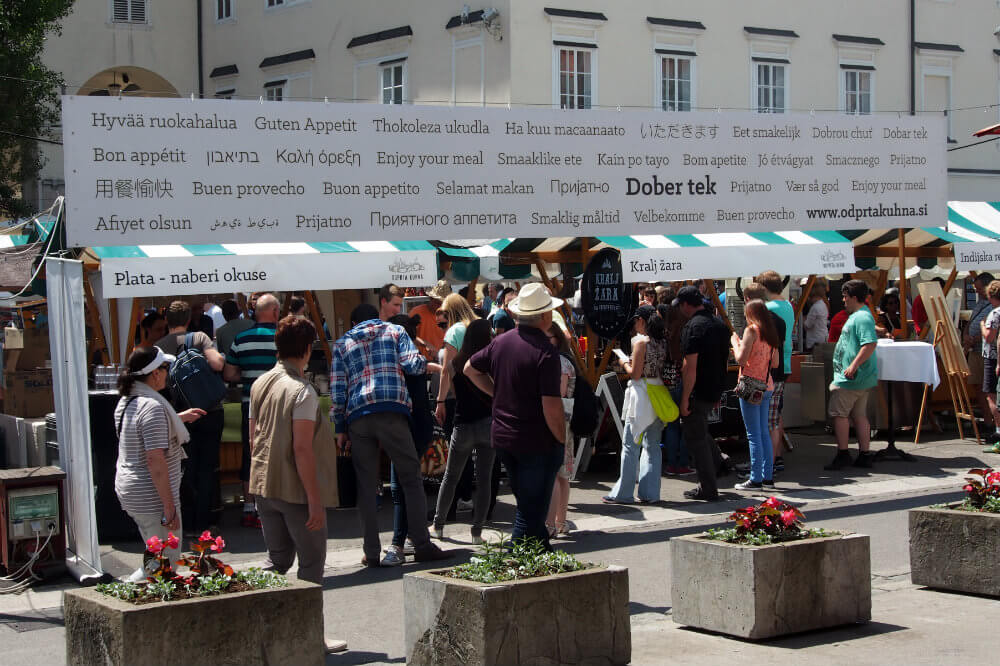 Everyone is welcome and Open Kitchen Ljubljana