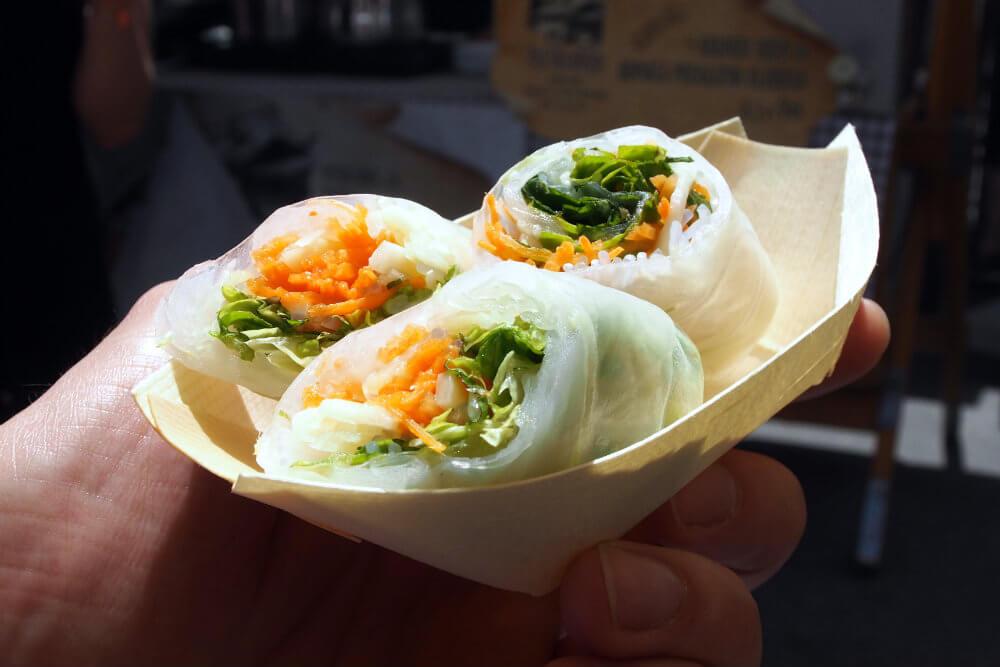 Fresh, crisp and delectable Vietnamese Rolls