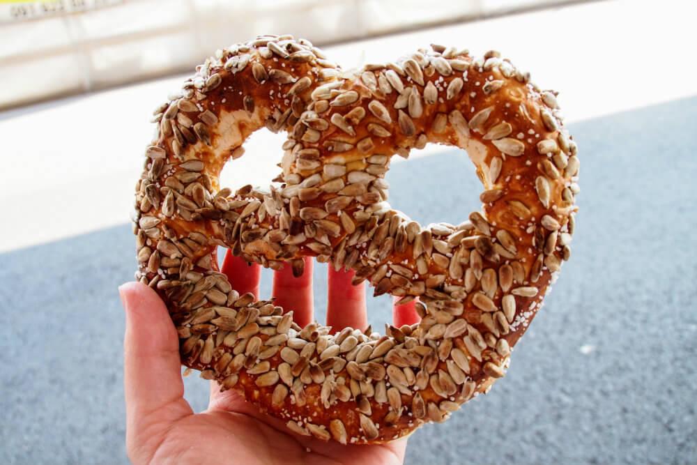 When in Switzerland, eat pretzels
