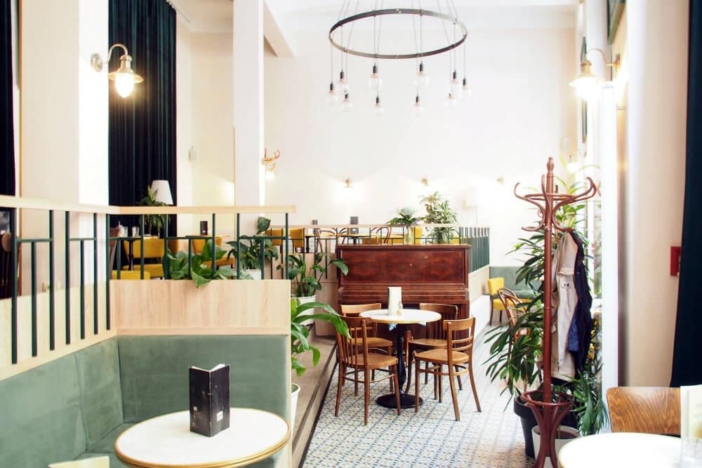 The bohemian Parisian-style interior at Dobre&Dobré, Bratislava