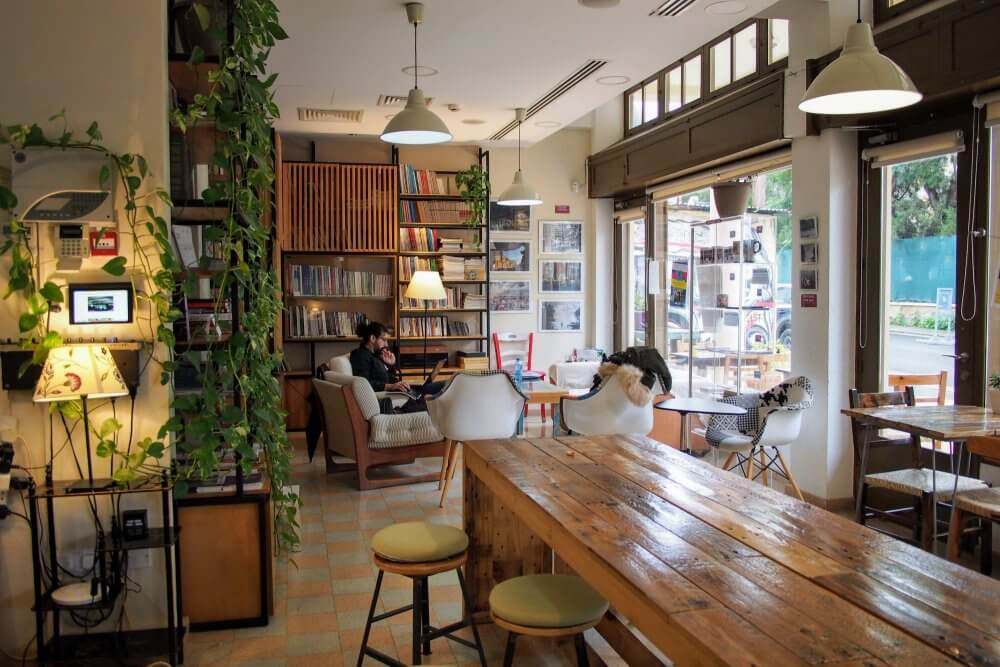 Home for Cooperation, an awesome cafe that can be found in the UN Buffer Zone.