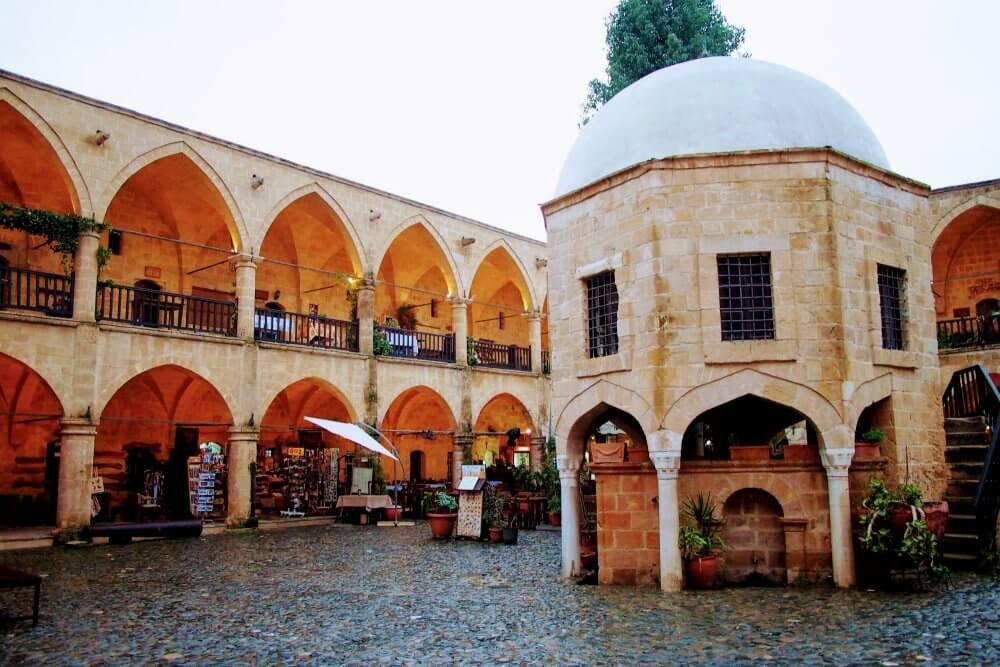 Büyük Han (Great Inn), an historic Caravanserai, now an arts & craft bazaar.