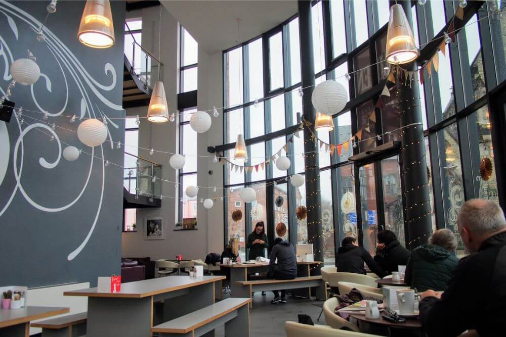 Unusual setting aside, Siren in Liverpool is a fabulous cafe