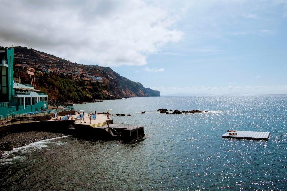 Complexo Balnear Barreirinha is a fabulous swimming spot in Funcahl, Madeira