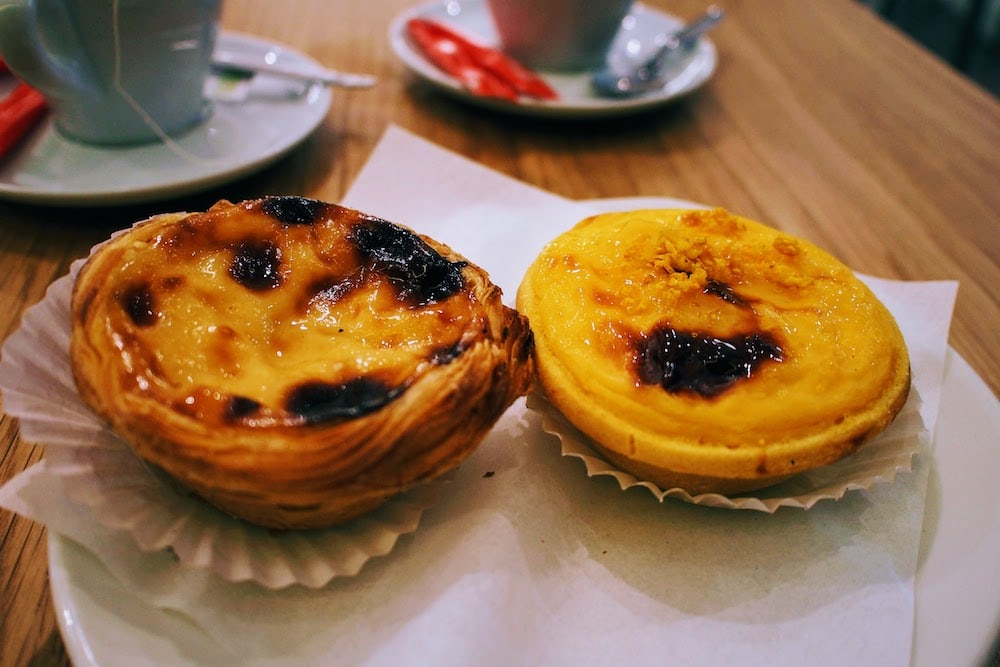 Delicious Pastéis de Nata can be found all over the city