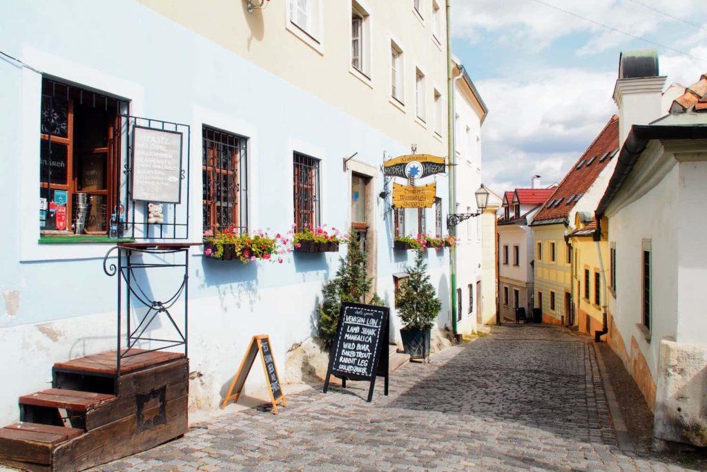 The historic old town of Bratislava is a treasure trove of pretty architecture