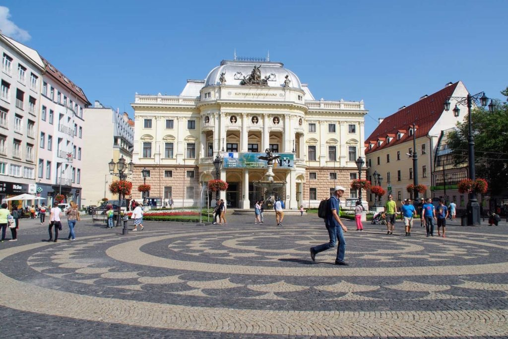 New Building of Slovak National Theatre, Bratislava