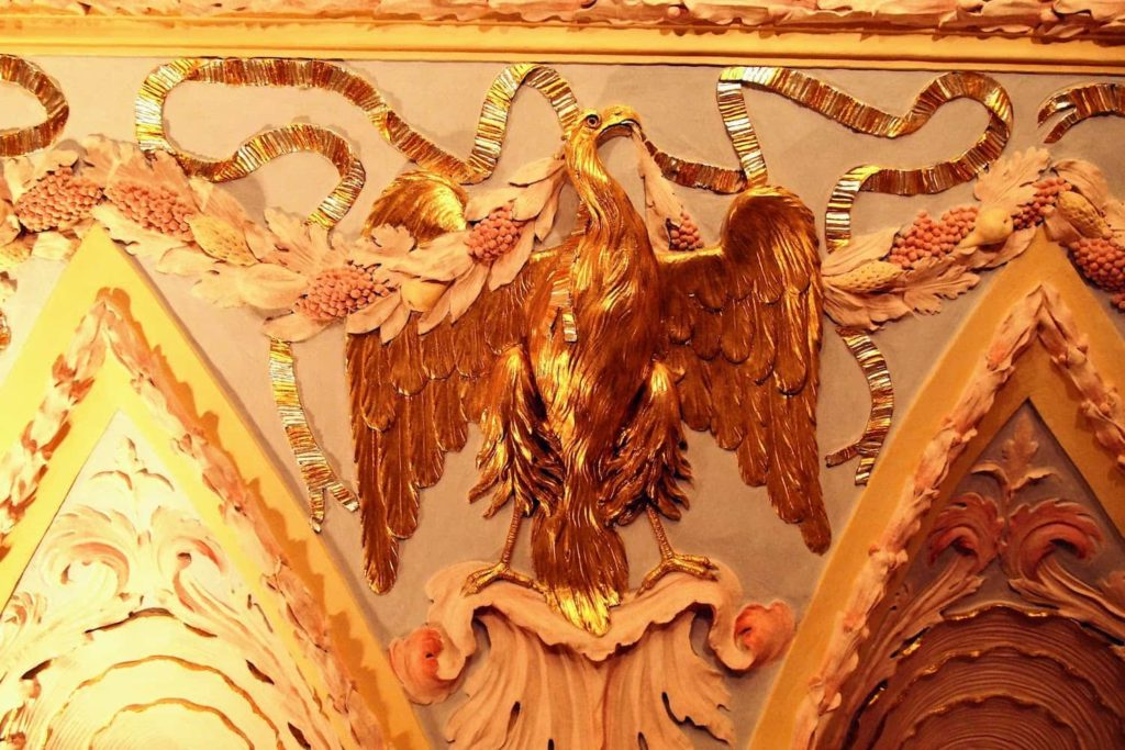 Decorative ceiling in the Old Town Hall, Bratislava