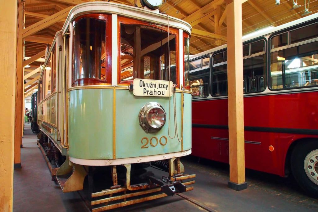 Exhibits at the Transport Museums in in meticulous condition