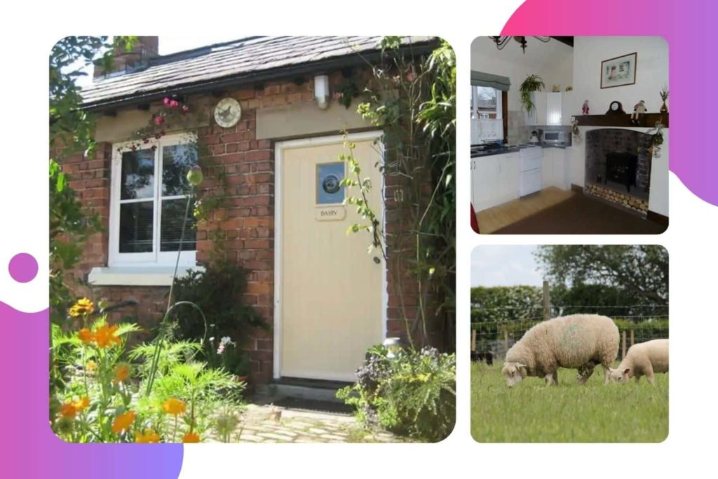 The Dairy Cottage in Burscough, West Lancashire