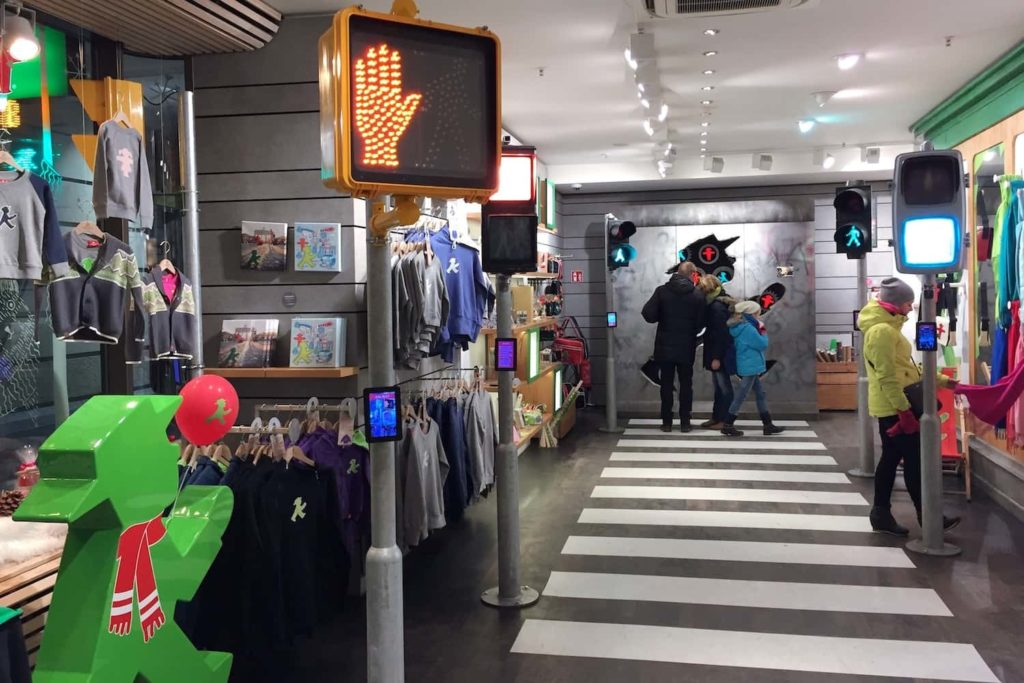 Revel in the Ampelmann at the Ampelmann Shop