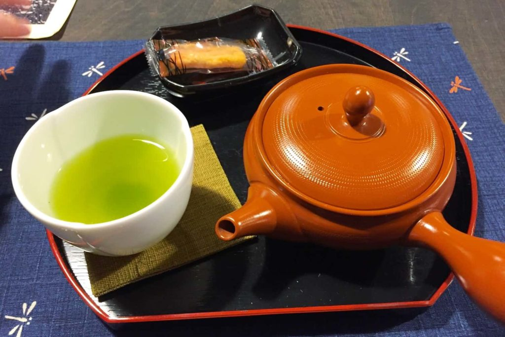 A variety of delicious Japanese loose-leaf teas are on offer at Chaya