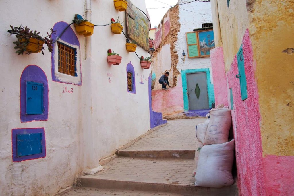 The town of Bhalil was very pretty and completely unaffected by tourism