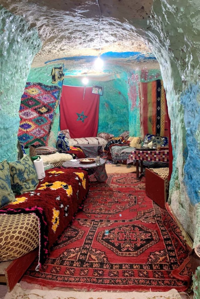 It was a privilege to be invited into a Berber home set into a cave