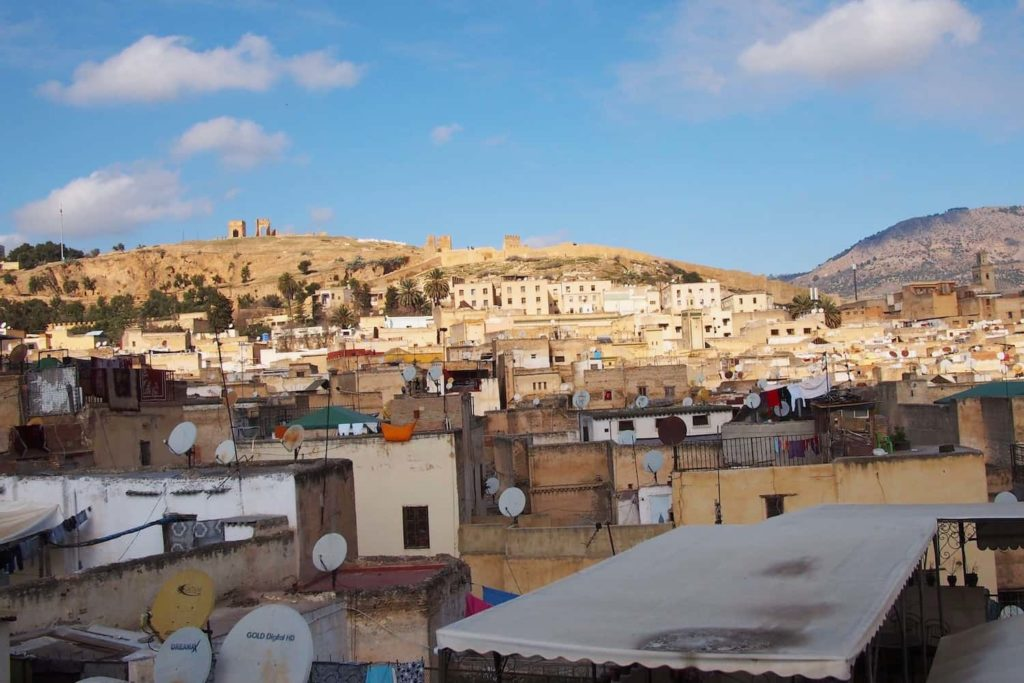 The hammam we visited is away from the touristy centre, in the suburbs