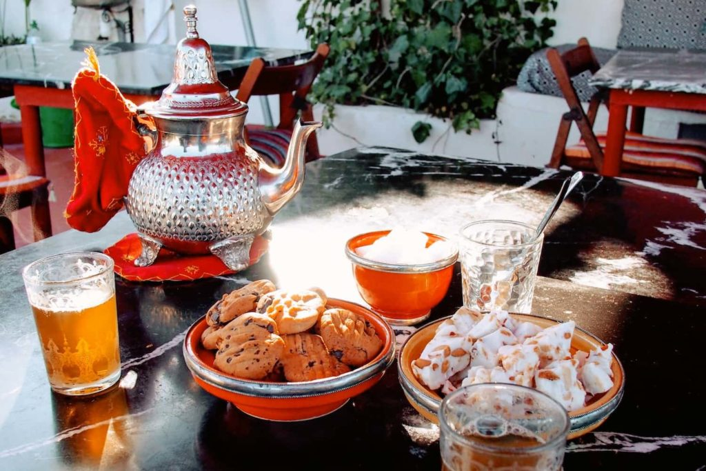 You won't go far in Morocco without being offered tea
