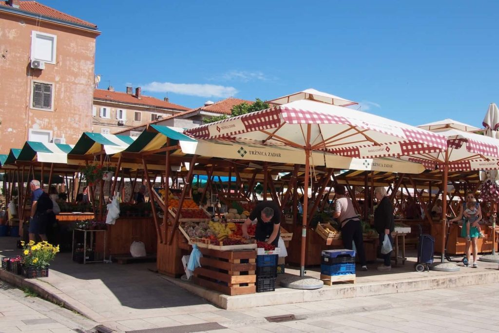 The central market is a great place to pick up local produce