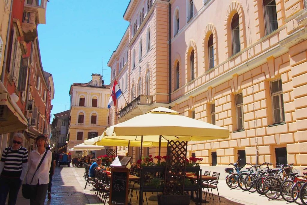 There are plenty of places to dine and wine throughout Zadar's Old Town