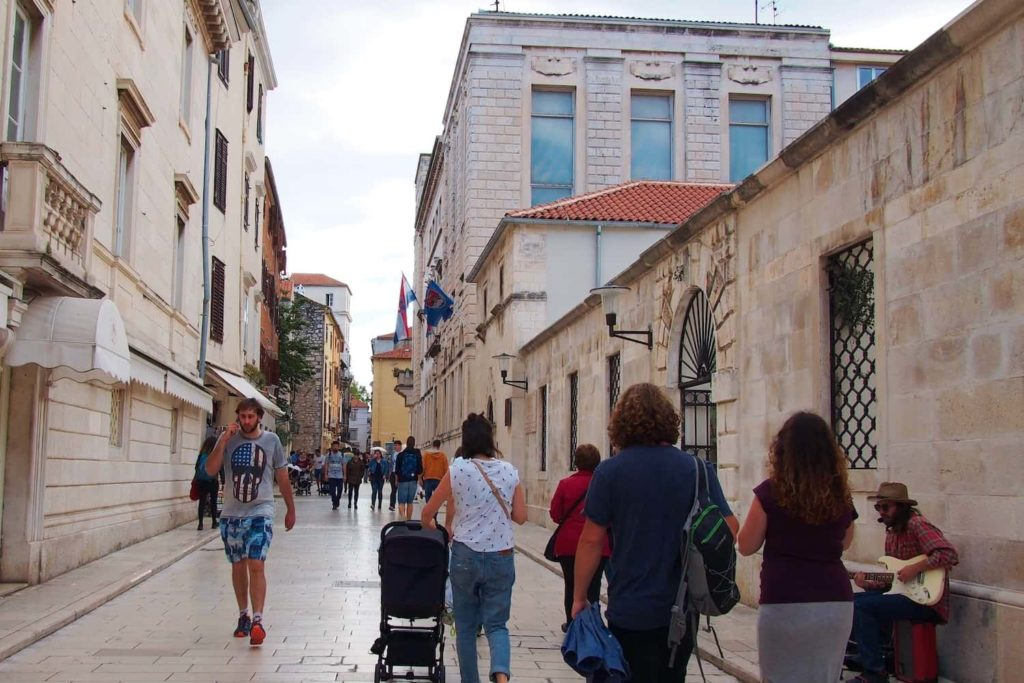 From the moment your enter Zadar's Old Town, you know you're somewhere special