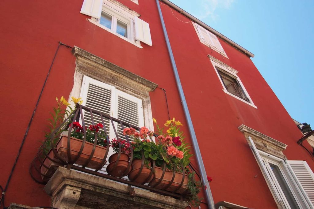 There's a great mix of architectural styles throughout the Old Town