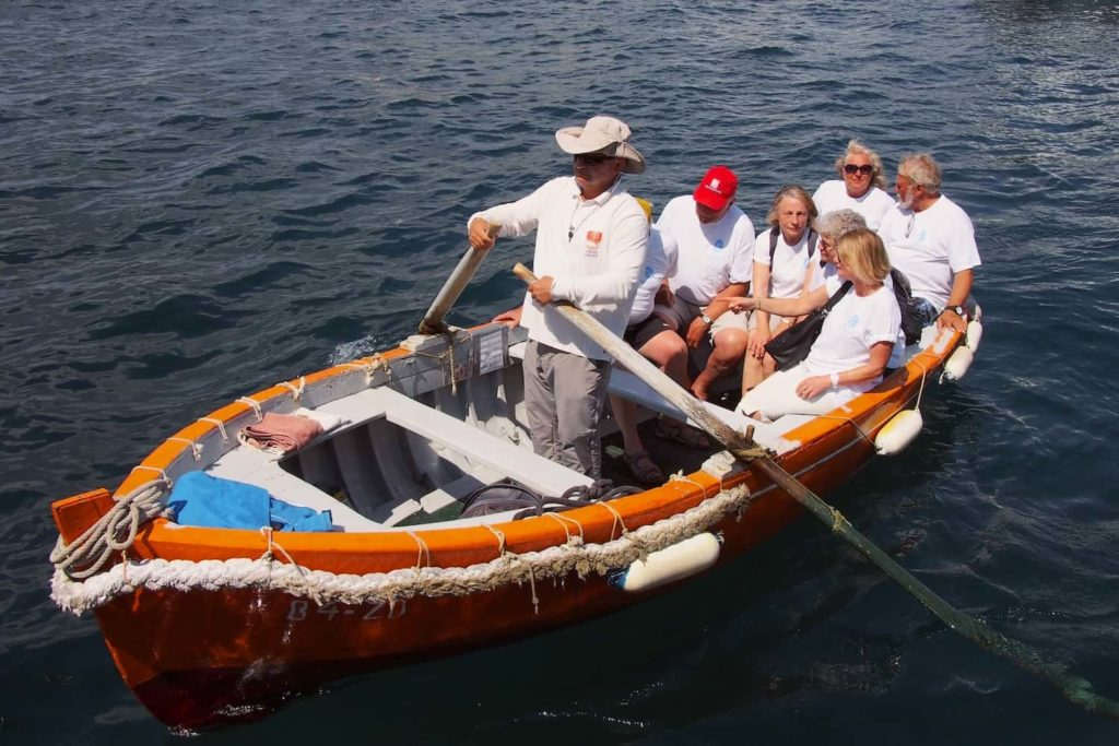 The rowing men of Zadar ply their trade from dawn to dusk