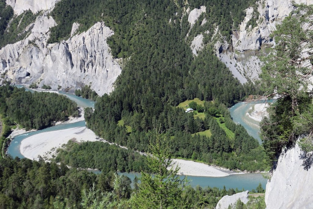 The Rhine Gorge is a geological marvel