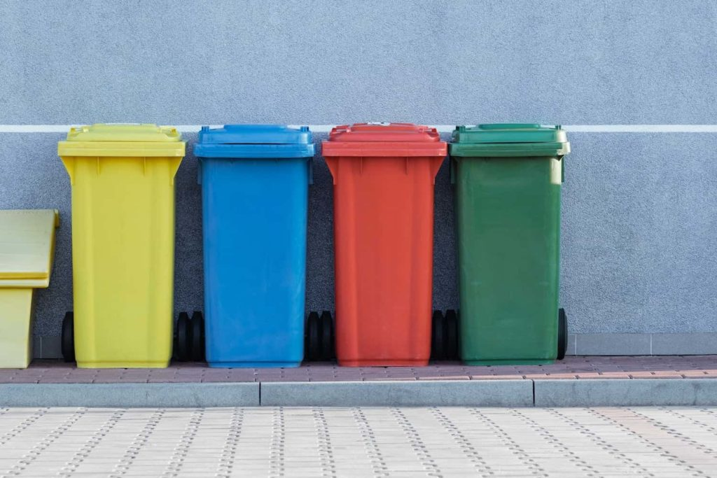 Recycling can be a bit different to what you're used to, so do your research